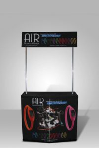 expo promo display air