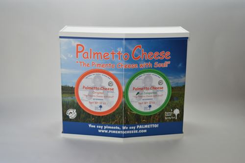 trade show table basic-l palmetto cheese front view