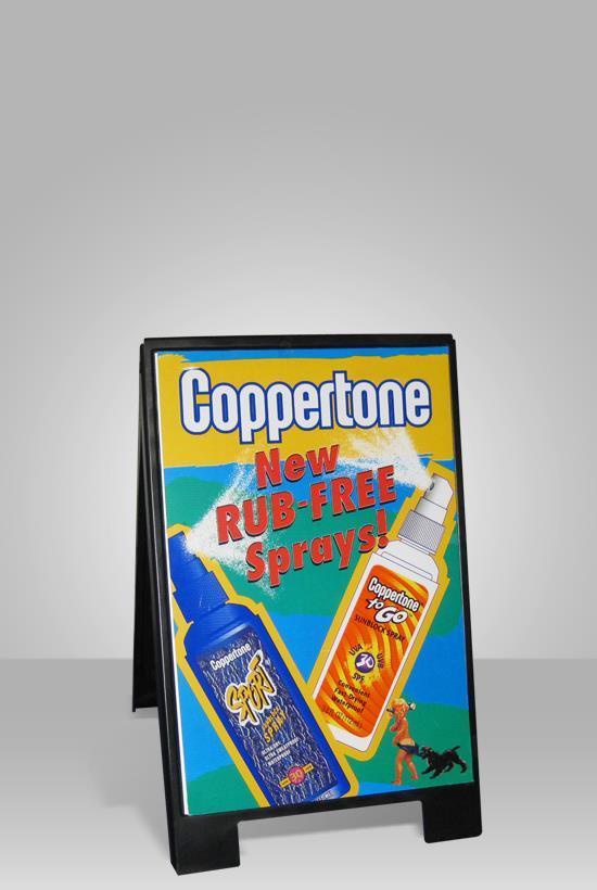 advertising sign a-frame super sign
