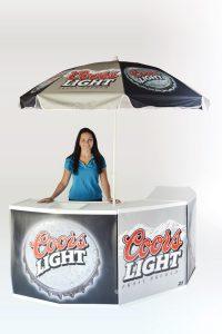 promo counter port-a-bar