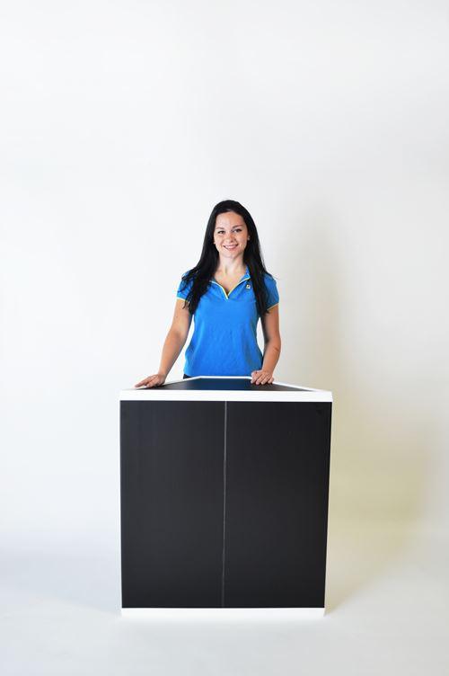 sample table 90-degree model